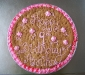Lots of Pink Cookie cake