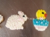 Bunnies and Chicks in Easter Eggs